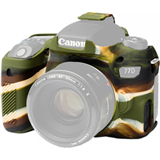 محافظ بدنه easyCover Silicone Protection Cover for Canon 77D (Camo)