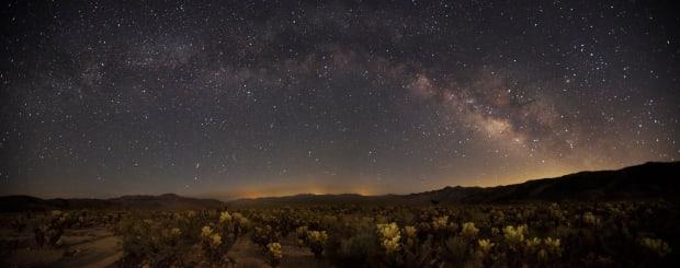 عکس در شب