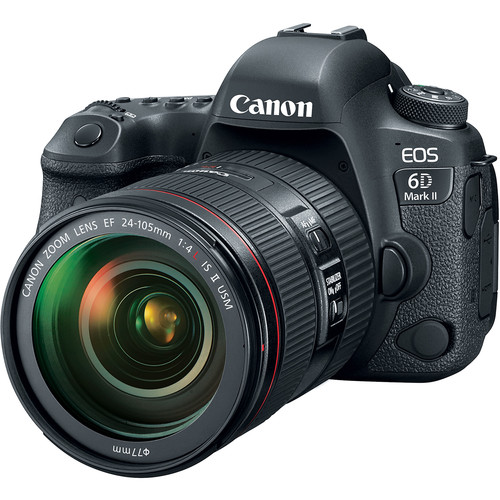 Canon EOS 6D Mark II with 24-105mm f/4 IS II Lens