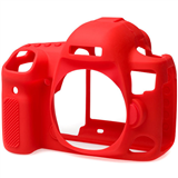 محافظ بدنه کانن 5 دی مارک 4 easyCover Silicone Protection Cover for Canon 5D Mark IV (Red)