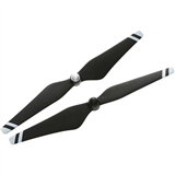 DJI 9450 Carbon Fiber Reinforced Self-tightening Propellers :Composite Hub, Black with White Stripes