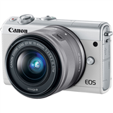 دوربین بدون آینه کانن Canon EOS M100 Mirrorless Digital Camera with 15-45mm Lens (White)