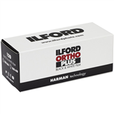 فیلم ایلفورد سیاه و سفید Ilford Ortho Plus Black and White Negative Film 120 Roll Film